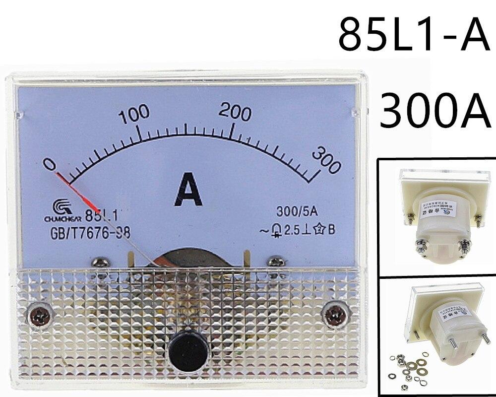 Аналоговый измерительный прибор переменного тока 300 а амперметр переменного тока 85L1 0-300A датчик