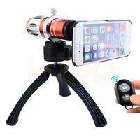 Новые 12.5X телефото телескоп зум Оптические стёкла для Samsung Galaxy S3 S4 S5 S6 S7 чехол для телефона с мобильными штатив Объективы для фотоаппаратов к...