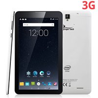 DragonTouch S7 7'' 3G Phablet Unlocked Android Tablet Quad Core Android 5.1 Lollipop Phone Calling GSM Dual Sim Card
