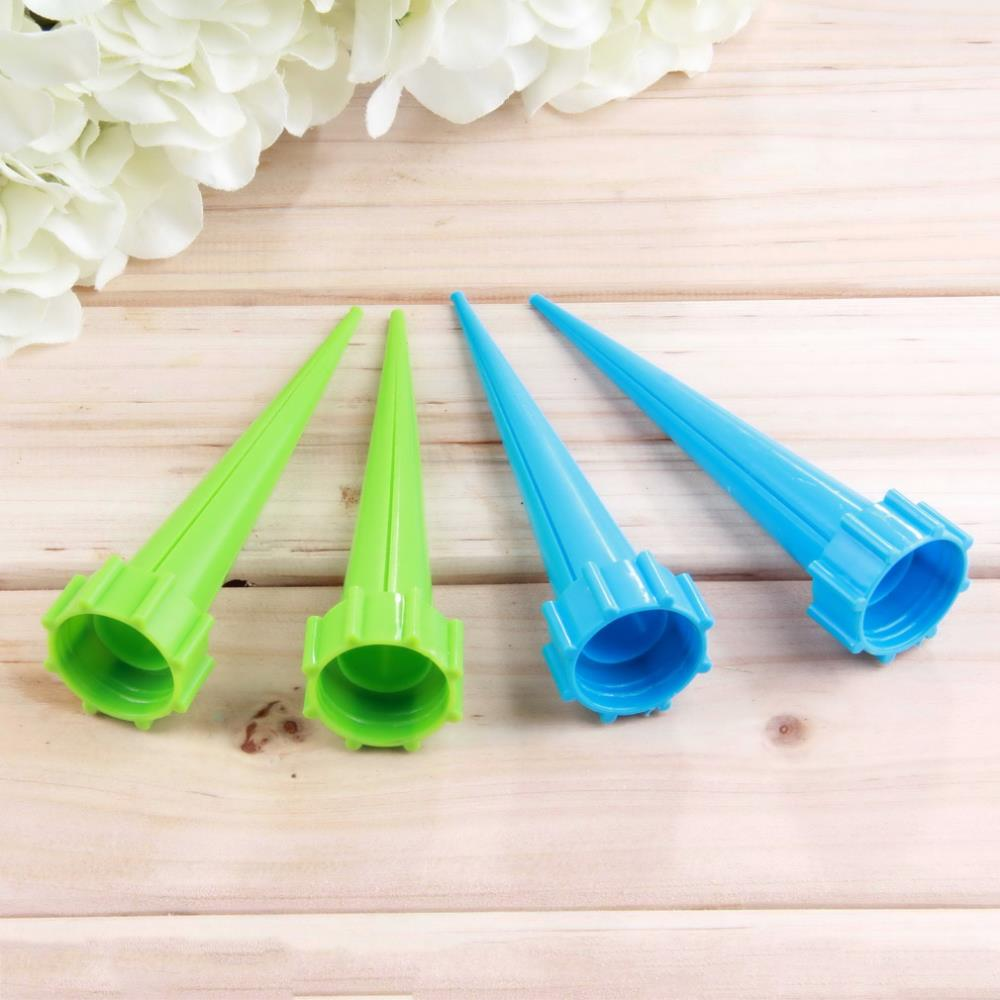 Practical 12Pcs/lot Garden Cone Watering Spike Plant Flower Waterers Bottle Irrigation System Free shipping