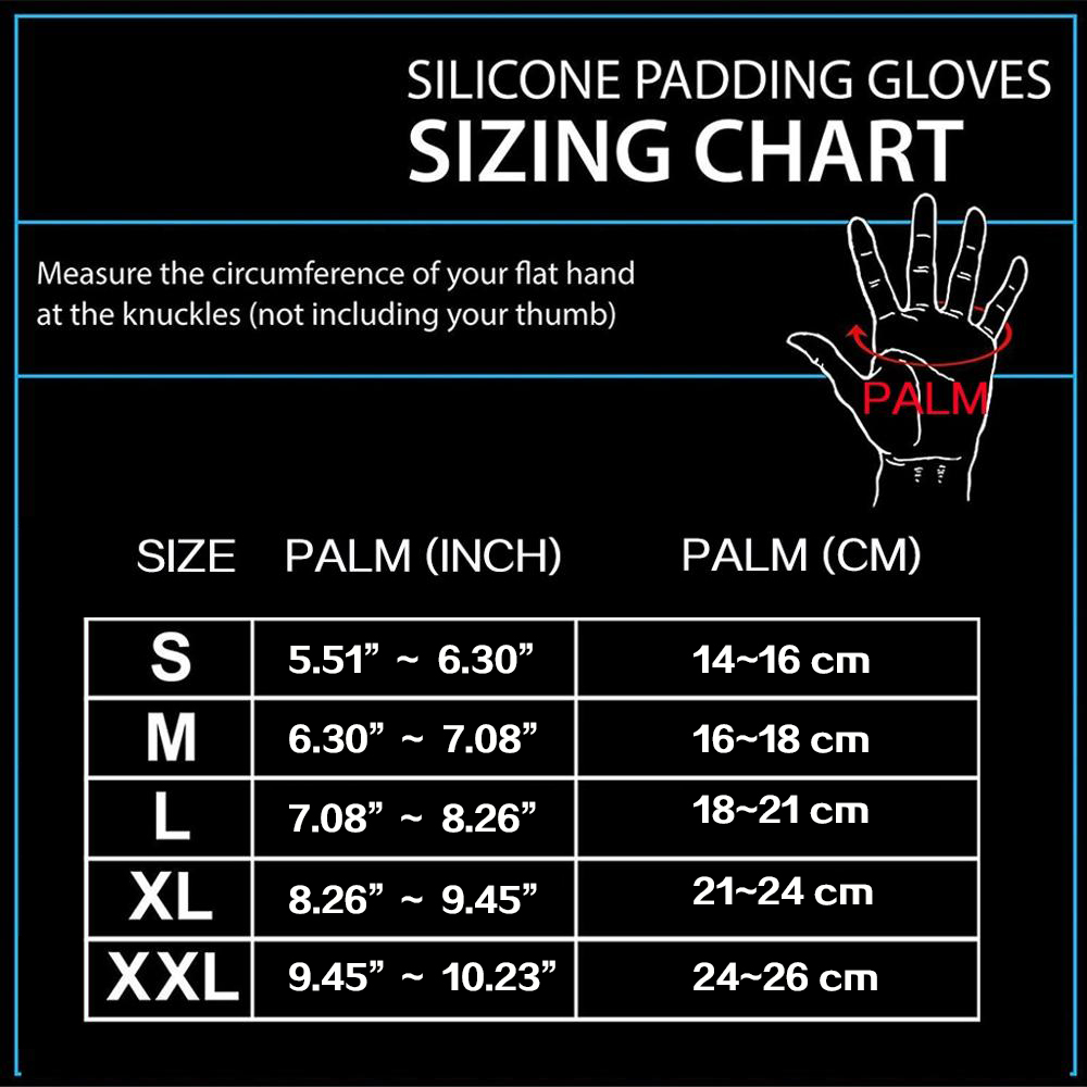 Gym Fitness Gloves Hand Palm Protector  5