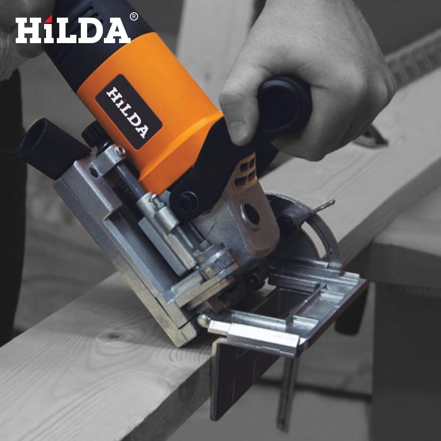 HILDA 760W Biscuit Jointer Elektrisch gereedschap Houtbewerking - Elektrisch gereedschap accessoires - Foto 5