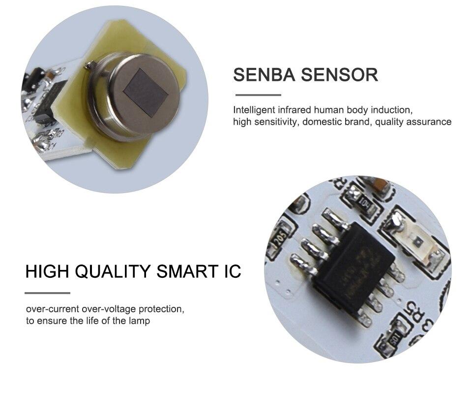 Smart PIR Motion Sensor LED Lamp Light (7)