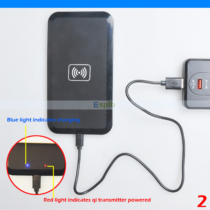 Qi Wireless Charger Charging Pad for Samsung Galaxy Note 5
