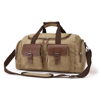genuine leather travel duffel bag men packing cubes travel luggage organizer large capacity leather travel handbag weekend bag Large Capacity Men Travel Bag Bolso Viaje Luggage Packing Bag Men Floding Travel Organiser Duffel Bag Sac Weekend