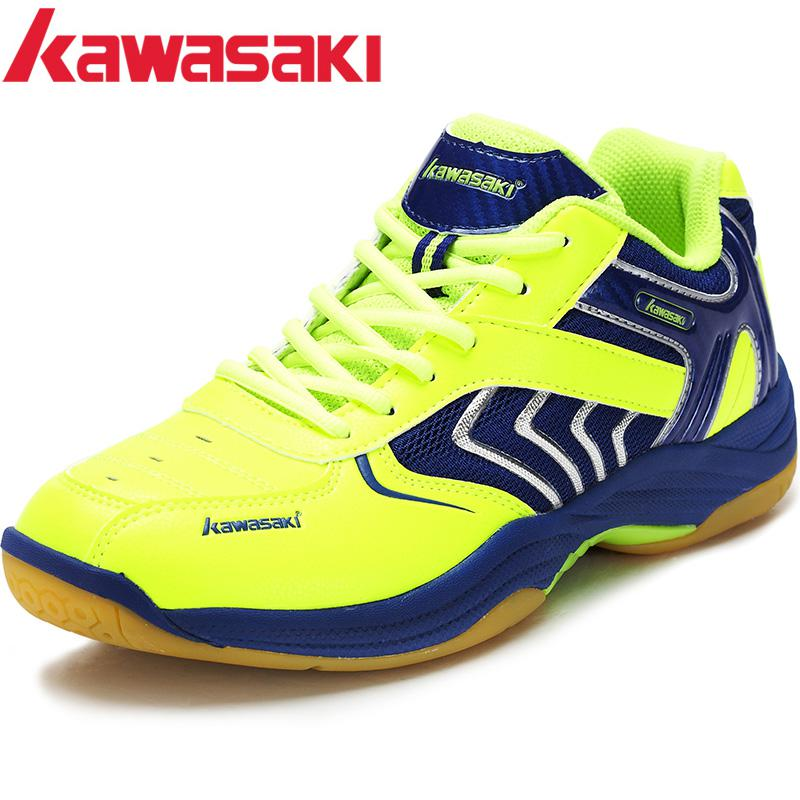 US $35 77 11% OFF|Original Kawasaki Badminton Shoes Men And Women Children  Zapatillas Deportivas Anti Slippery Breathable For Lover-in Badminton Shoes