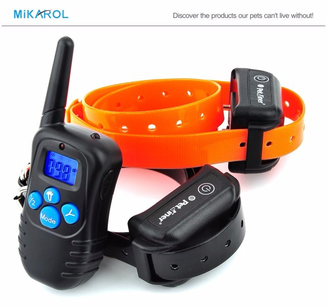 18th Rechargeable Dog Shock Collar PET998DBB