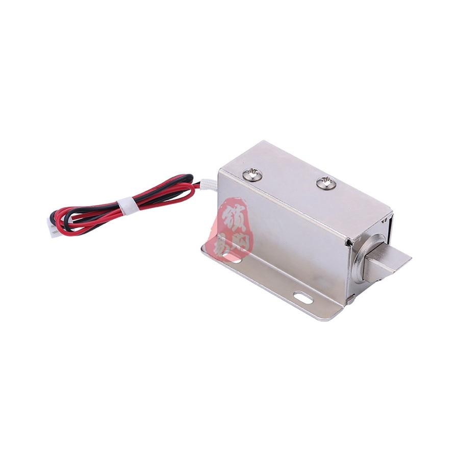 Hasps & Locks Hd1040-12v Open Frame Type Electronic Door Lock 12v/0.8a For Cabinet Locks/solenoid Locks/drawer