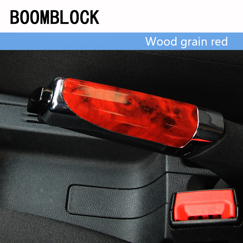1x Car Parking Handbrake Grips Protector Covers Sticky For Audi A3 A4 B6 B8 B7 B5 A6 A5 Q5 Q7 Peugeot 2008 3008 Citroen C4 C5 C3