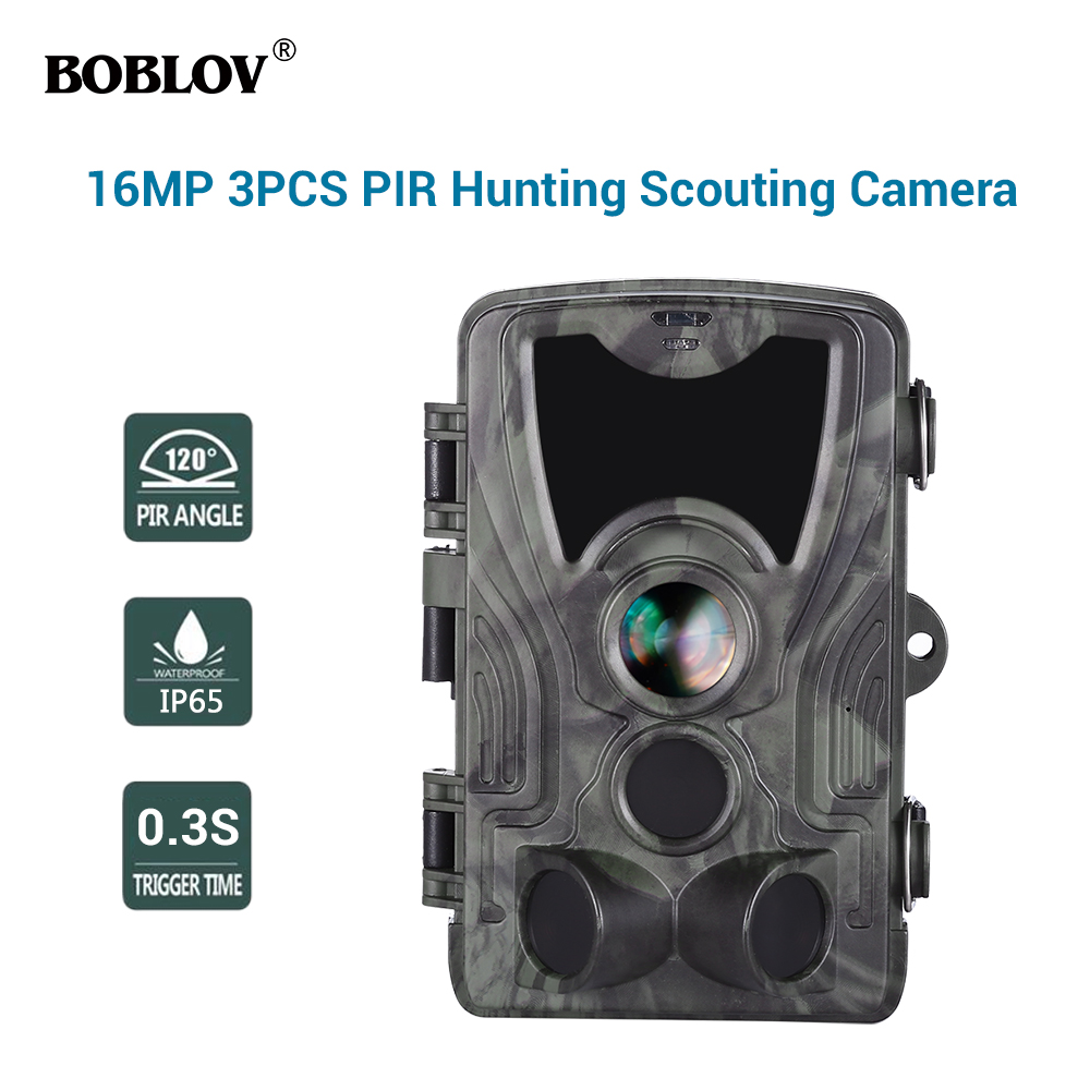 HC801A 16MP 1080P 3xPIR 0.3S Waterproof Night Vision Wildlife Game Trail Camera Scouting CAMHC801A 16MP 1080P 3xPIR 0.3S Waterproof Night Vision Wildlife Game Trail Camera Scouting CAM