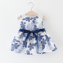Melarie Baby Dress 2019 Summer Country Style Baby Girl Cotton Dress Party Princess Dresses