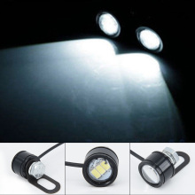 Супер отражатели 2 шт мощностью 12V мотоциклов белый Светодиодный точечный светильник головной светильник нити накала фары дальнего света светильник противотуманная фара