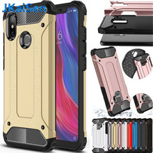 Strong Hybrid Tough Shockproof Armor Phone Back Case For Xiaomi 8 SE Lite PRO 6 MAX 2 3 MIX 2S Redmi NOTE 4 4X 3 5 6 Plus Cover(China)