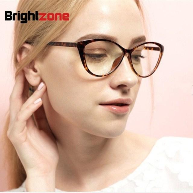 2017 new fashion brand women sexy cat eye glasses plain women Clear Cat Eye glasses frame high -quality vintage female gafas