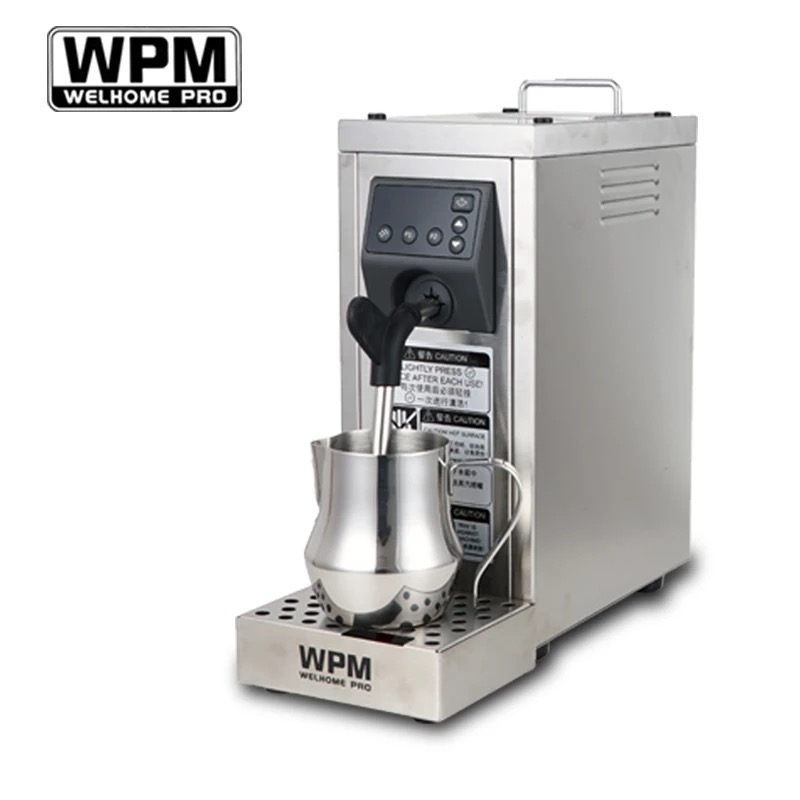 200-240VFully автоматическая профессиональная Пароварка для молока с установкой температуры/машина для откачки молока из нержавеющей стали WPM ...