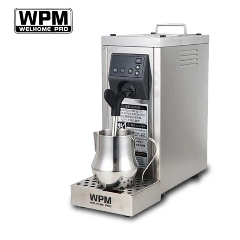200-240VFully automat latte Professionale a vapore con impostazione della temperatura/latte in acciaio inox ugello macchina WPM WELHOME PRO