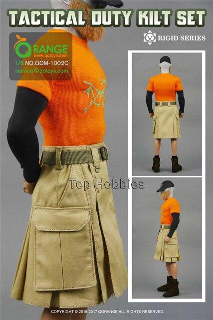 Weibliche Körper Zubehör Kampf Rock Kleidung Anzug QORANGE QOTOYS 1 ...