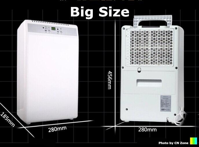 Frete grátis grande desumidificadores secador de ar Grande Cobertura de máquina de secagem de umidade absorvente deshumidificador purificação do Ar em casa