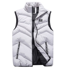 FALIZA Chaleco sin mangas para hombre, chaqueta y abrigos gruesos cálidos, chaleco informal, MJ110