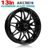 Universal 13 12 in Motorcycle accssorics Rims Front alumium alloy For yamaha nmax 155 aerocx 155 nvx 155 himda