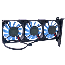 Купить с кэшбэком gtx 1060 Best choice DIY cooling  Computer cooler graphics card universal pci cooler super silent pci cooling fan