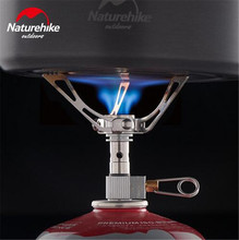 Naturehike Camping Gas Stove 3000W Ultralight Portable Aluminium Alloy Camping Stove Cooking Equipment Outdoor Cookware 40g цена 2017