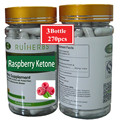 3Bottle Raspberry Ketone Plus + African Mango Extract, Acai Berry Extract ,Green Tea Extract Capsule 500mg x 270pcs