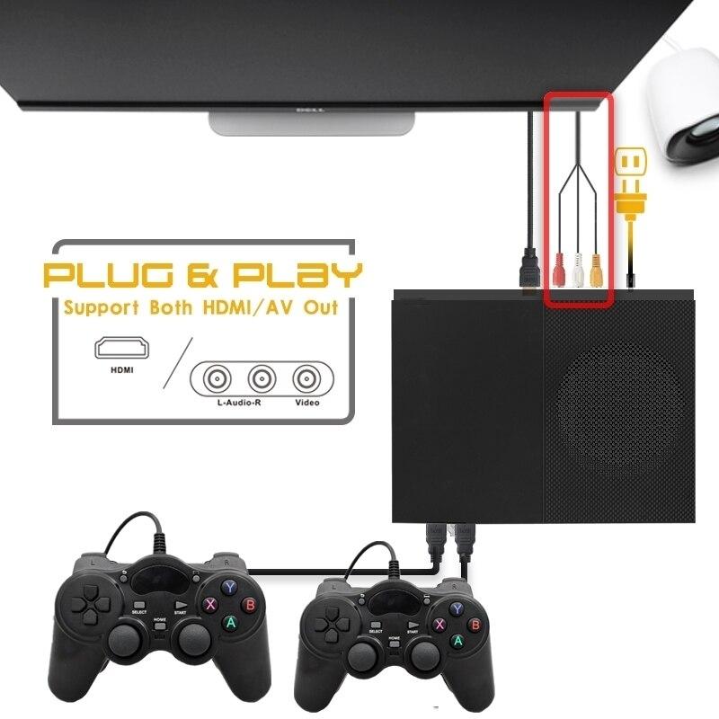 Videospielkonsolen 64bit Ultra Hd Video 4 K Spielkonsole Eingebaute 800 Klassische Spiele Hdmi Av Familie Tv Fps Ausgang Retro Handheld Spiel Spieler X Pro Unterhaltungselektronik