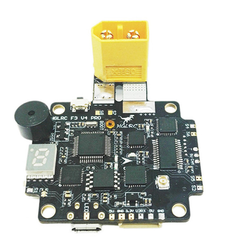 High Quality  F3 V4 Flight Control Board AIO 25mW 200mW 600mW Switchable Transmitter OSD BEC PDB Current Sensor high quality flytower f3 flight controller 25 200 400mw switchable fpv transmitter osd dshot 30a 4 in 1 esc pdb