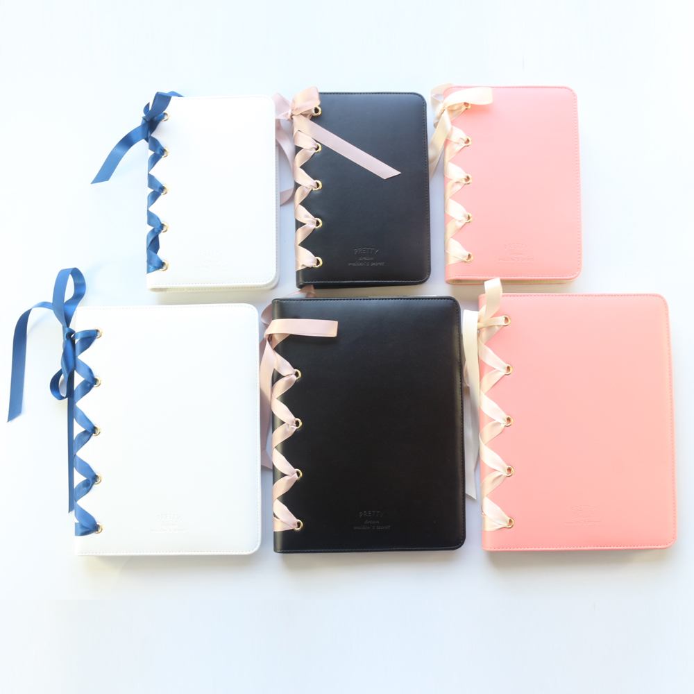 Image 2 - Domikee cute office school spiral notebooks journals stationery,kawaii person binder weekly planner agenda organizer gift,A5A6-in Notebooks from Office & School Supplies