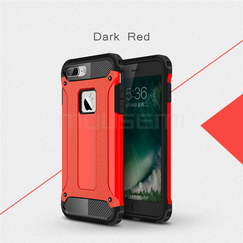 Silicone Luxury Shockproof Hard PC TPU Armor iPhone Case 16