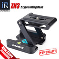 INNOREL ZH3 Z Типа складной глава Высшего качества Flexibal Z Пан раскладной Стол Quick Release Plate Для Штатив камеры VS шаровой глава