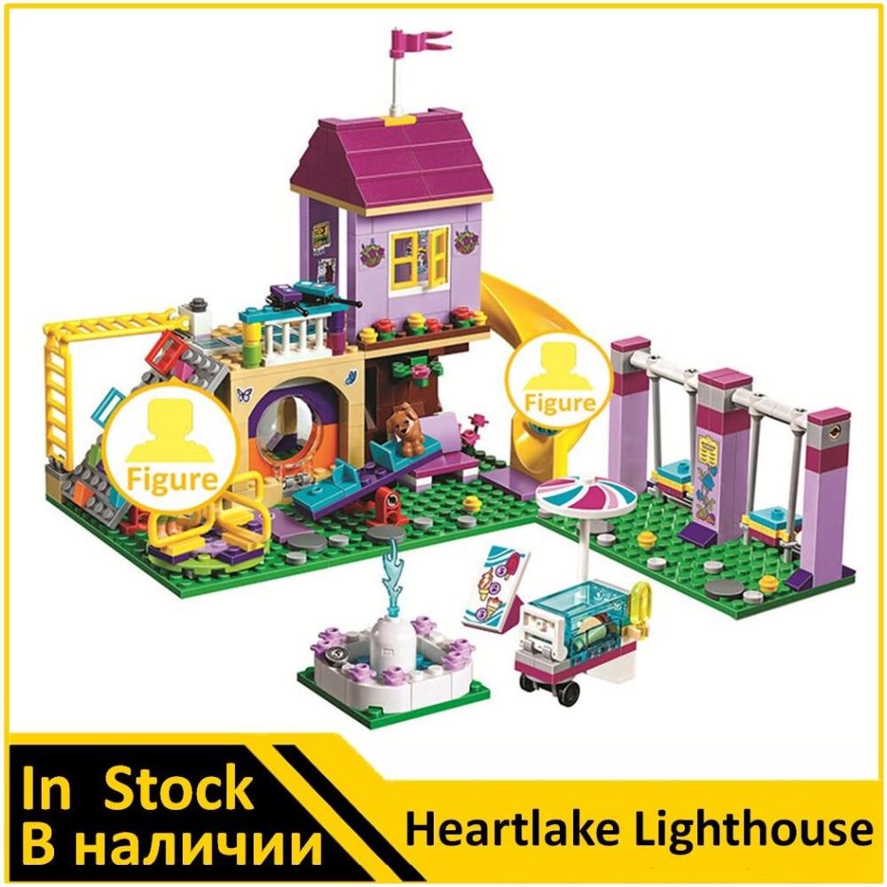 Bela Building Blocks 10774 Compatible Friends Heartlake Lighthouse 41325 Model Educational Toys for Children стоимость