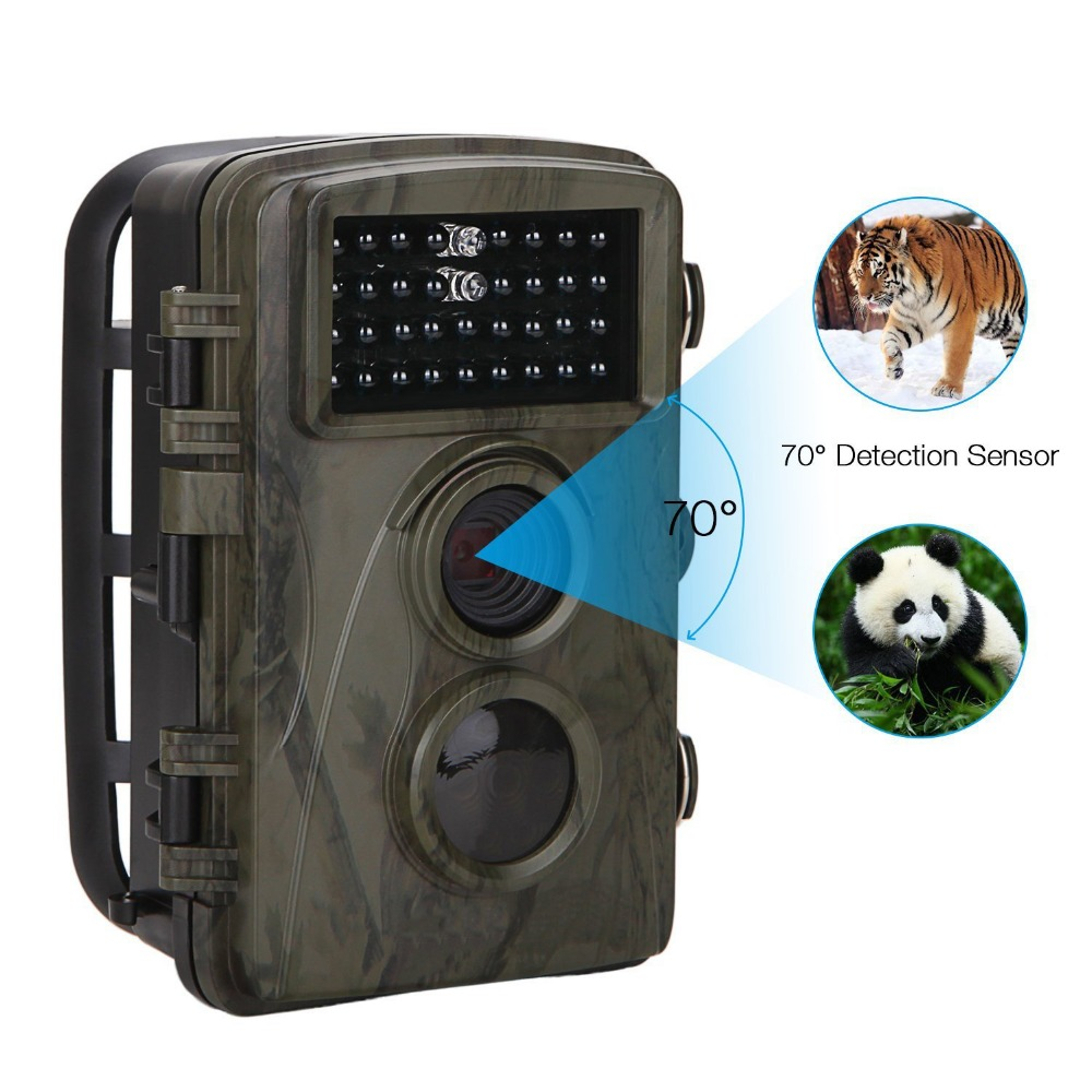 IP56 Waterproof Scouting Hunting Detection Trail Camera Trap Wildlife IR Infrared LED Video Recorder Night Vision Camera h3 detection trail cameras trap wildlife ir infrared led video recorder night vision hunter cam digital scouting hunting camera