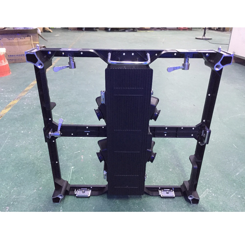 Indoor 500x500mm Die Casting Aluminum Empty Cabinet P3.91 LED Screen Panel For LED Display Rental