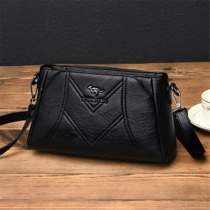 Image 5 - Designer Luxury Brand Ladies Handbags Female Crossbody Bags for Women Feminina Bolsa Leather Shoulder Messenger Bags Sac A Main