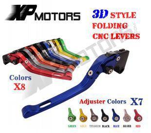 ФОТО Adjustable CNC 3D Feel Folding Brake Clutch Levers For Yamaha TMAX 500 XP500  2008 2009 2010 2011