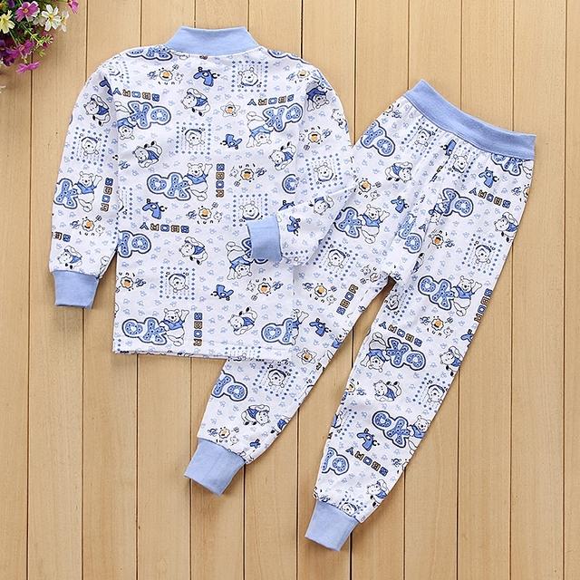 Kids PJ sets, Long sleeved T-shirt+ Long pants, girl and boys