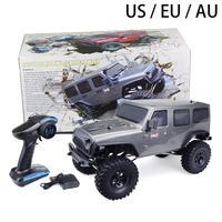 RGT 1/10 удаленных Управление электрический автомобиль игрушка моделирования внедорожных восхождение автомобиль HSP EX86100 серый (коробка цвета)