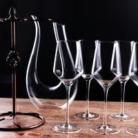 High Quality Wine Decanters Wine Glass Cup holder shot glass Wine set Wine gift Fashion wine set vinho