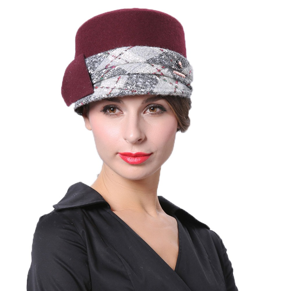 Red Winter Wedding Hats ced68bfb75f