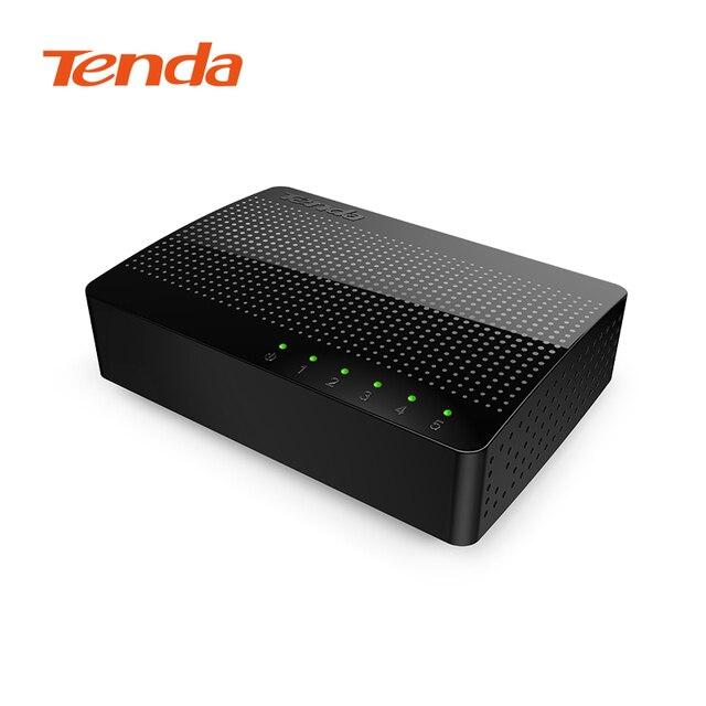 Tenda SG105 Ağ 5-Port Gigabit Anahtarı 1000 Mbps Hızlı Ethernet Anahtarı Lan Hub Tam/Yarım dubleks Değişim