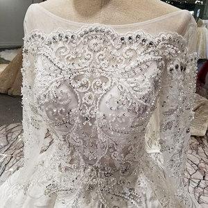 Image 4 - AIJINGYU düğün elbisesi türkiye arapça abiye nişan seksi yeni ucuz kıyafetleri meksika kıyafeti dantel gelin elbiseleri satılık