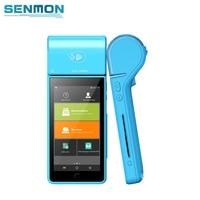 SENMON EMV PCI Android Handheld POS EDC Card Swipe Machine with Thermal Printer