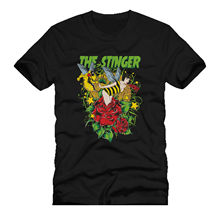 THE STINGER bee ass stinging hot sexy babe dtg mens t shirt teesPrinted Summer Style Tees Male Harajuku Top Fitness Brand