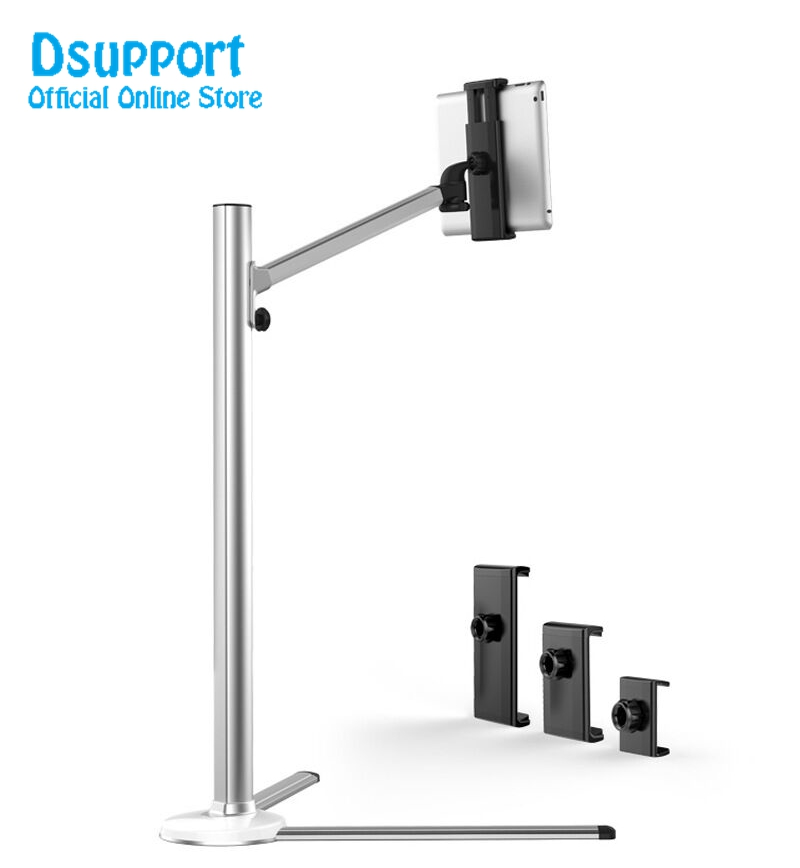 TV-Mount-UP-6-Smartphone-holder-Tablet-PC-Floor-Stand-Single-Arm-Bracket-360-Degree (1)
