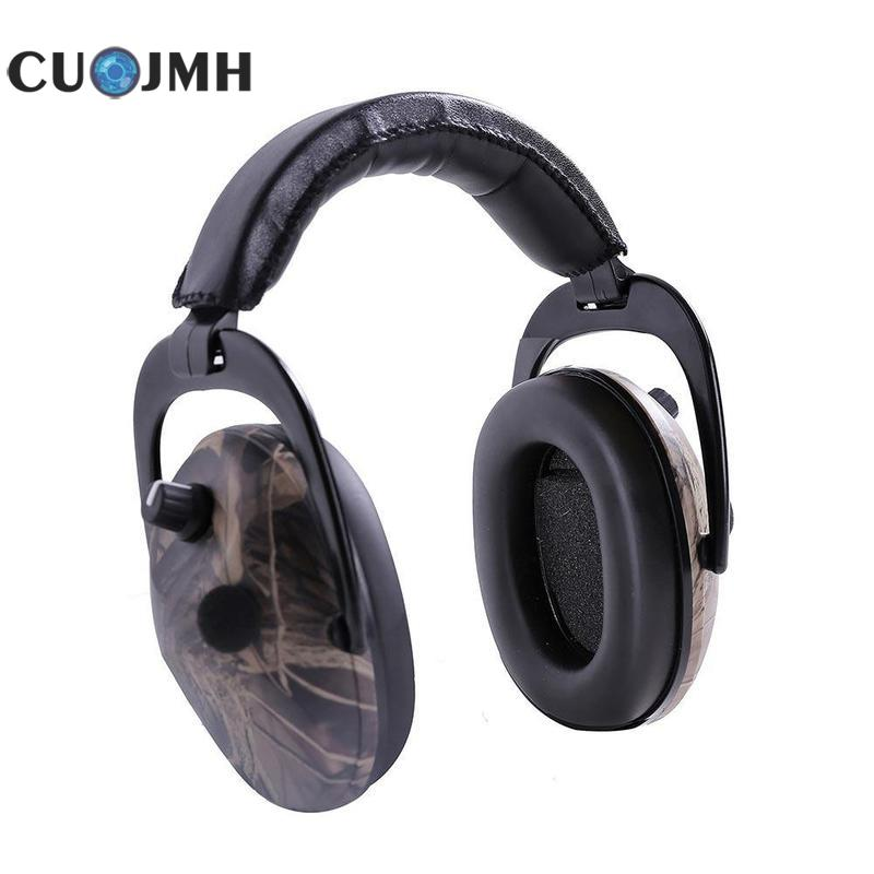 Hearing Protection Ear Withered Leaf Camouflage Tactical Intelligent Sound Proof Battery Powered Headset Tactical Headset цена