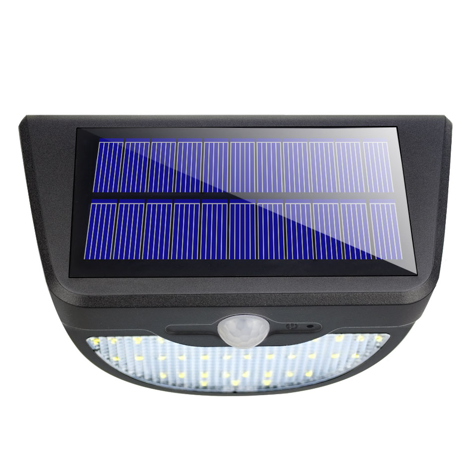 37 leds PIR montion sensor LED solar lamp Waterproof IP65 Outdoor Emergency lighting Sensor 3.7V 650lm Screw embedded Wall lamp