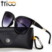 TRIOO Cuadrado Sheild Para Hombre Gafas de Sol hombre gafas de Sol Unisex Mujeres de la Alta Calidad 2017 de Protección UV400 Shades Gafas