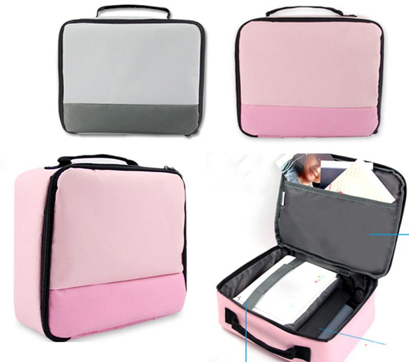 Casual Canvas Handbags Portable Storage Bag Men Women Case For Canon SELPHY CP910/900 /1200 Digital Photo Printer
